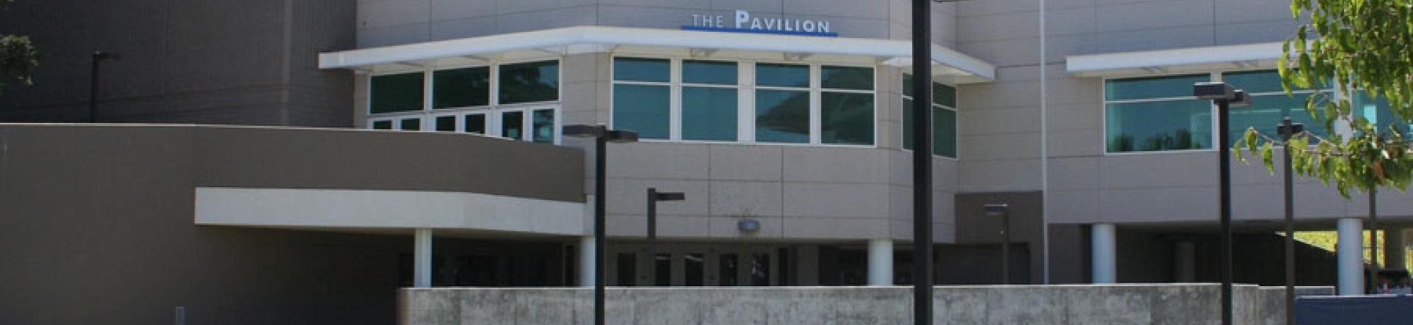 exterior of the pavilion